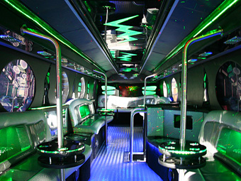 The 22 Seater Party Limo Bus