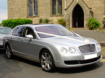 The Silver Bentley Flying Spur